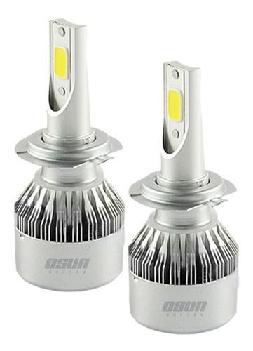 kit focos led osun c6 9005 h7 h1 h3 tipo xenon faros auto