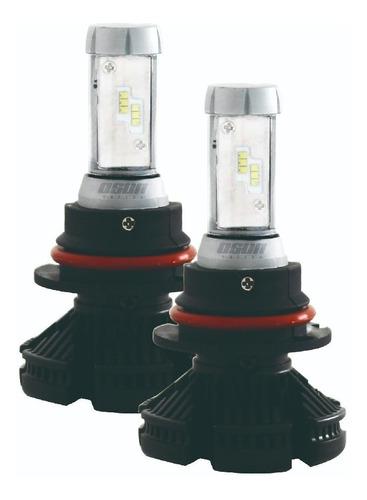 kit focos led osun x3 philips 55w luz alta/baja h4 9007 h13