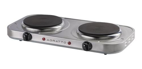 kit fogão elétrico agratto 220v + marmita elétric multilaser