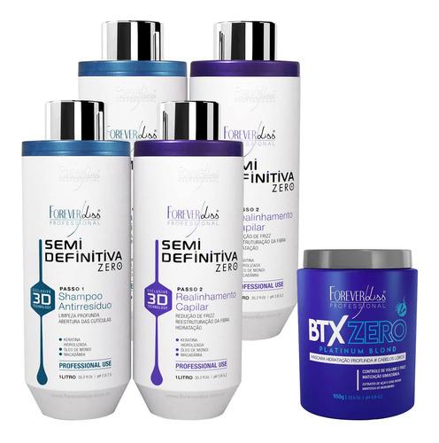 kit forever liss botox platinum blond e 2 progressiva 3d
