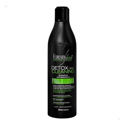 kit forever liss botox zero 250g shampoo detox e blindagem