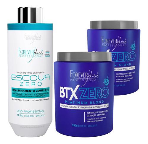 kit forever liss progressiva zero e 2 btx platinum blond