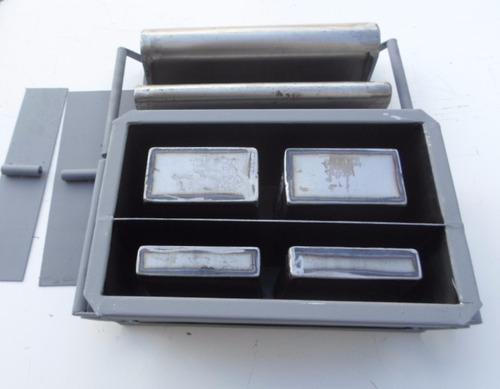 kit forma manual  bloco dupla 10 e 15 , 9x19x39 e 14x19x39