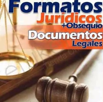 kit formatos jurídicos documentos legales completos + bonos