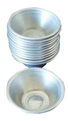 kit forminha mini empada alumínio (12 unid) para buffet nº 0
