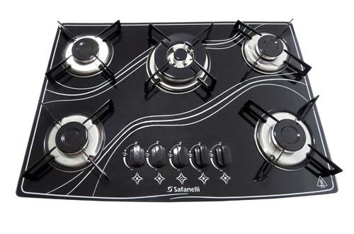 kit forno embutir + fogão cooktop tripla chama frete grátis