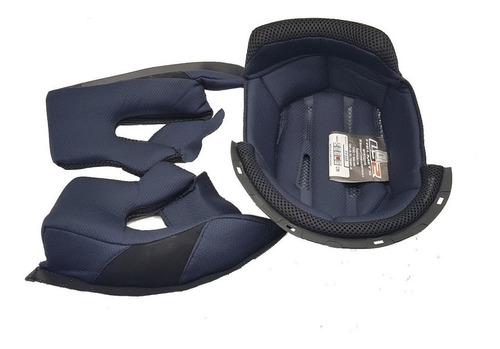 kit forração completa do capacete ls2 ff358 com trava