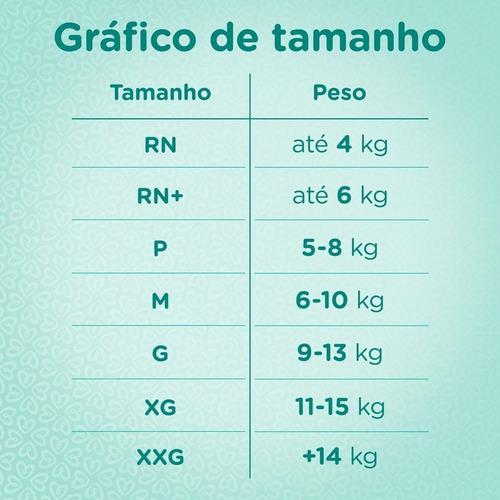 kit fralda pampers premium care rn c/108 unidades  2 à 4,kg