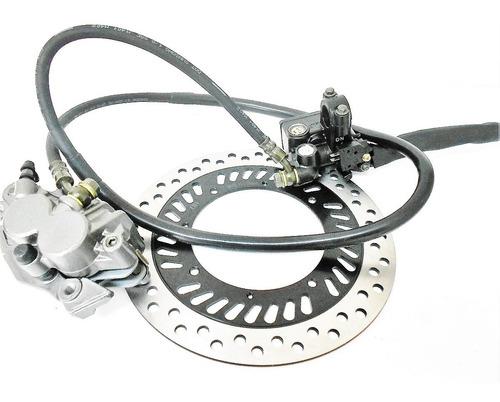 kit freio disco pinça burrinho flexível xr 200 tornado 250