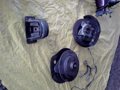 kit freio disco roda traseira cubo eixo kadett gsi sem pinça