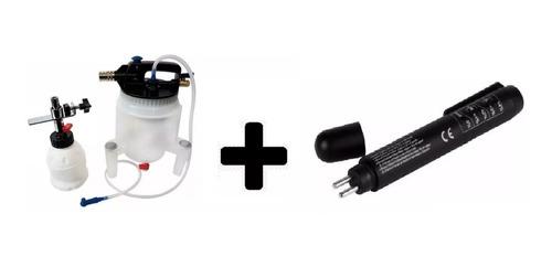 kit freio oficina sangrador embolo traseiro caneta fluido