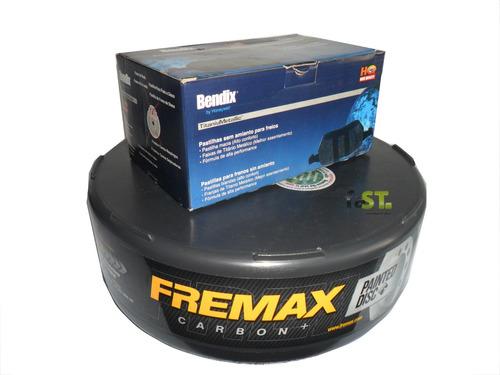 kit freio pastilha e disco traseira new civic 1.8 até 2011