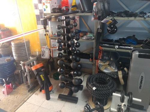 kit frete economia 20kg anilhas musculação fitness malhação