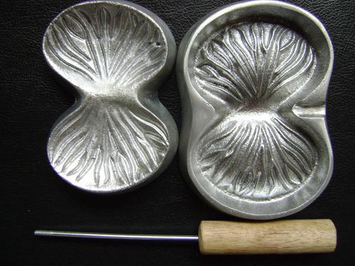 kit frisador eva 36 peças frisadores em aluminio fundido