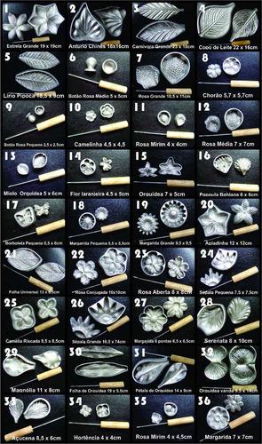 kit frisador eva em alumínio 36 peças e apostila impressa