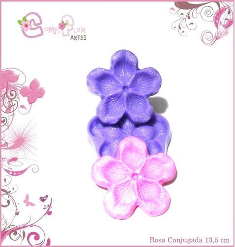kit frisadores rosa conjugada 5 peças