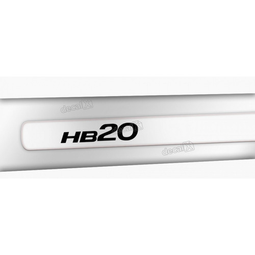 kit friso adesivo lateral resinado hyundai hb20 transparente