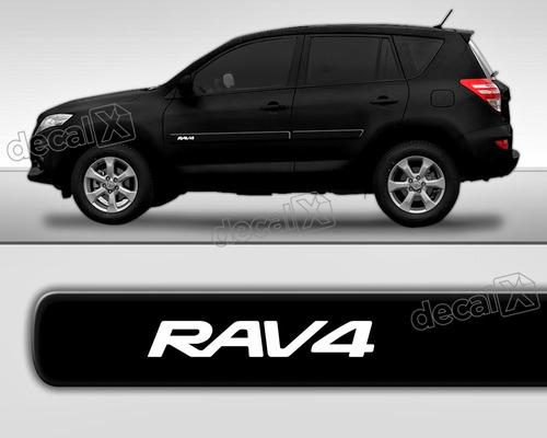 kit friso adesivo lateral resinado toyota rav4 preto fri18