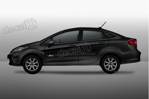 kit friso adesivo resinado ford new fiesta sedan  fri08
