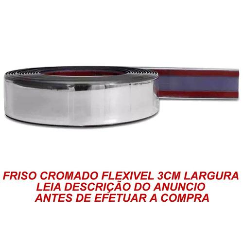 kit friso cromado lateral palio 97/13 4 porta
