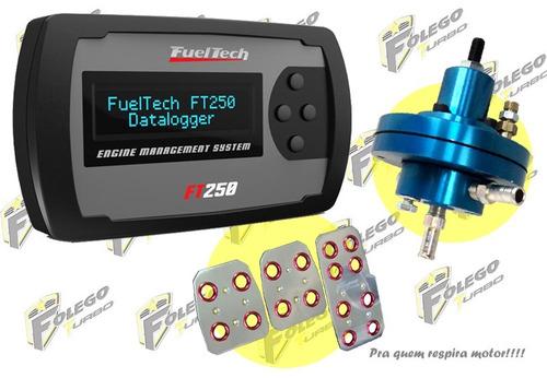 kit ft-250 + dosador combustível hpi + pedaleiras racing