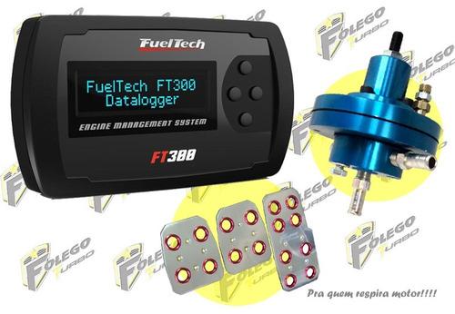 kit ft-300 + dosador combustível hpi + pedaleiras racing