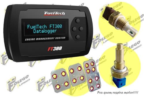 kit ft-300 + sensor ar + sensor água + pedaleiras racing
