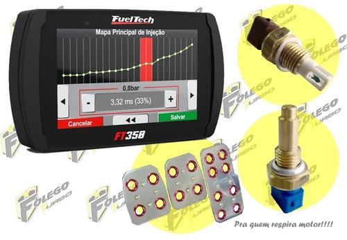 kit ft-350 + sensor ar + sensor água + pedaleiras racing