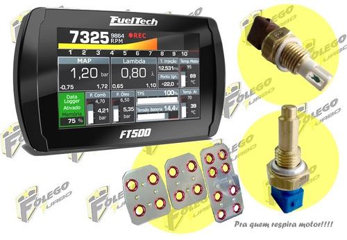 kit ft-500 + sensor ar + sensor água + pedaleiras racing