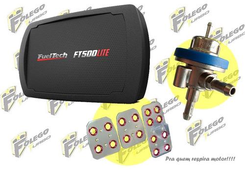 kit ft-500lite + dosador combustível lp + pedaleiras racing