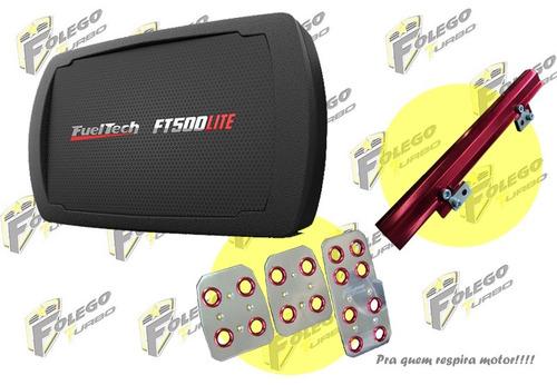kit ft-500lite + flauta ap mi + pedaleira racing