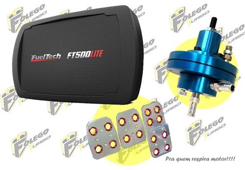 kit ft-500lite sem chicote + dosador hpi + pedaleiras racing