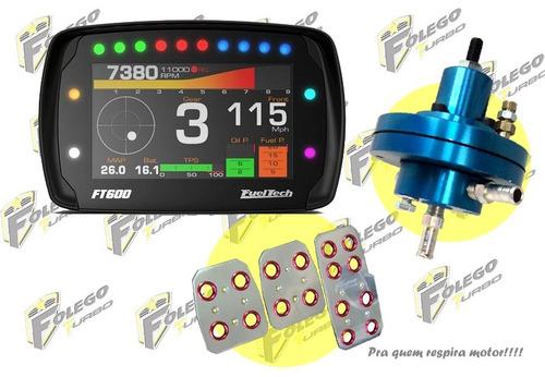 kit ft-600 + dosador combustível hpi + pedaleiras racing