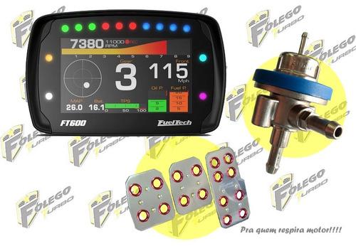 kit ft-600 + dosador lp + pedaleiras racing