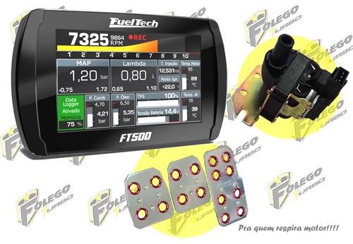 kit ft500 sem chicote + bobina ign. ap + pedaleiras racing
