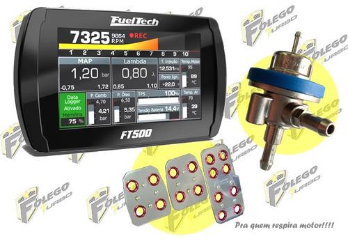 kit ft500 sem chicote + dosador comb. lp + pedaleiras racing