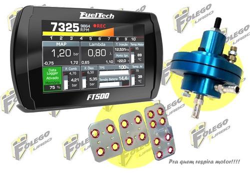 kit ft500 sem chicote + dosador hpi + pedaleiras racing