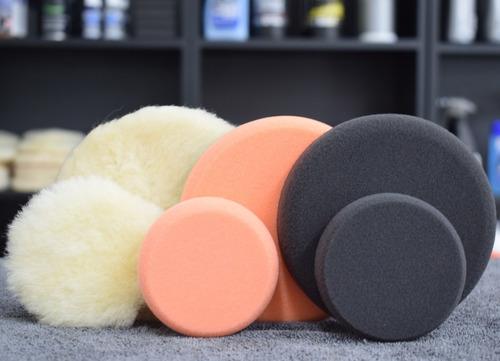 kit full pads de pulido 5 y 3 pulgadas alta calidad