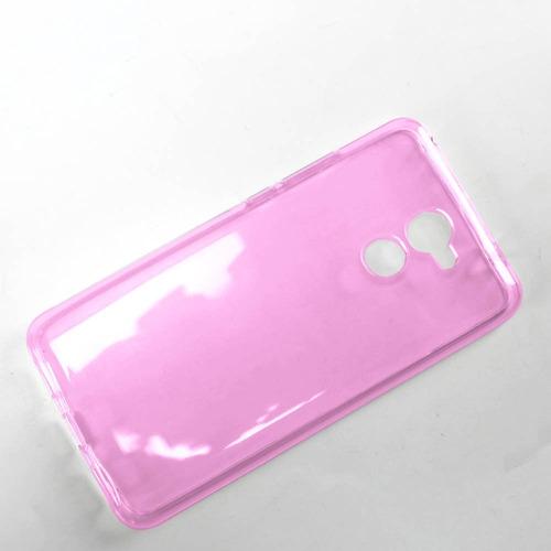 kit funda protector crystal case + cristal huawei y7 2017