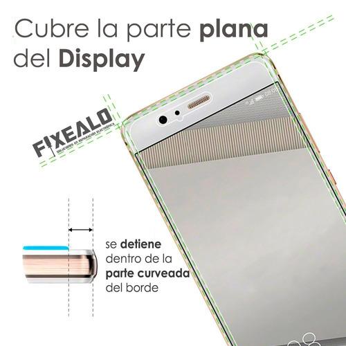 kit funda protector uso rudo cristal templado lg magna h500