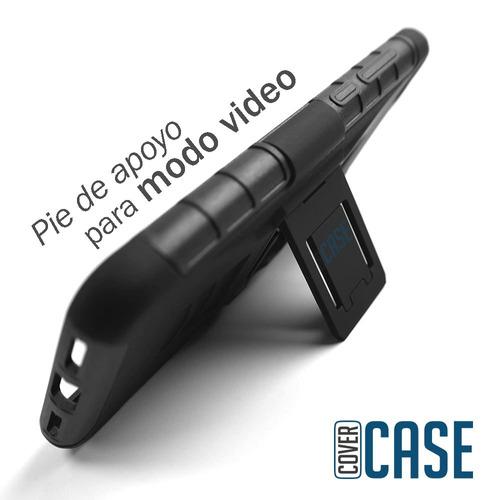 kit funda robot case protector duro  + cristal hisense f102