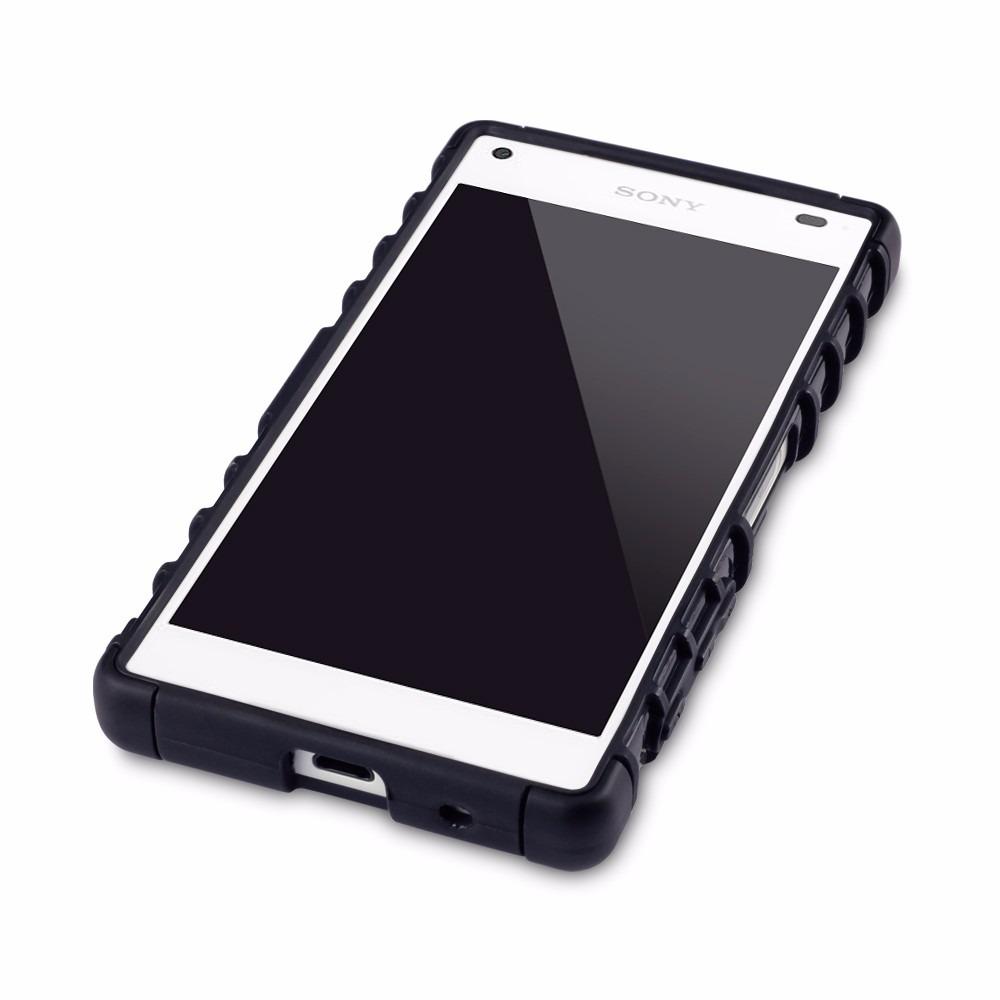 Kit funda uso rudo xperia z5 compact mica cristal templado en mercado libre - Funda xperia z tablet ...
