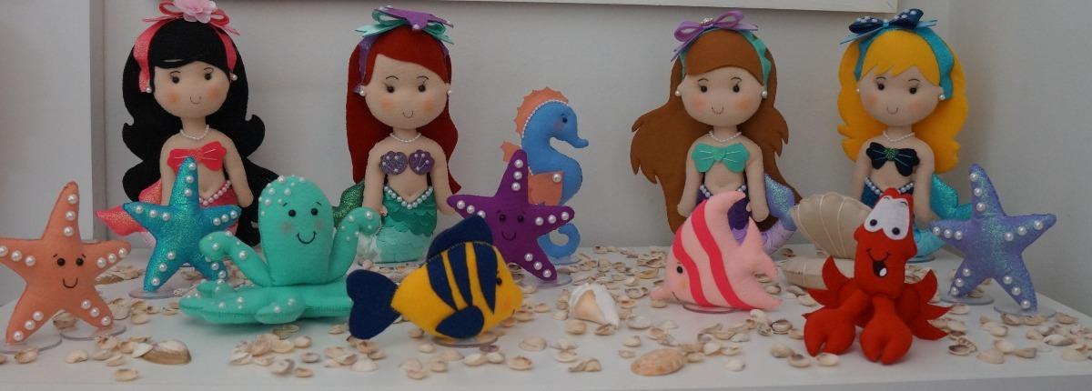 Kit Fundo Do Mar Decoração Aniversario Sereia Ariel R 43500