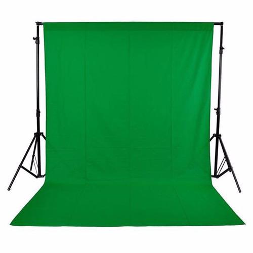 kit fundo fotográfico preto+branco+verde