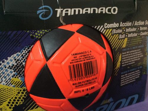 kit futbolito tamanaco número 3