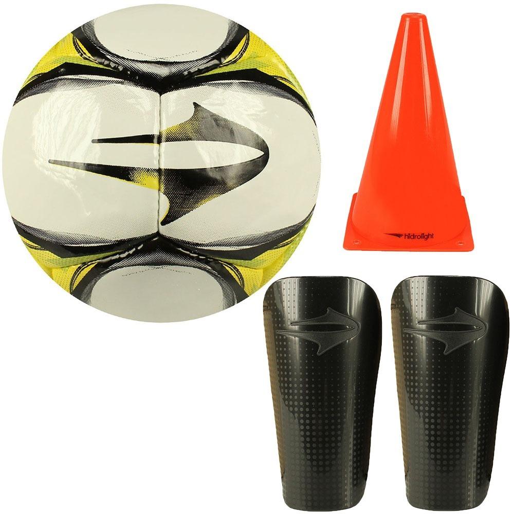 17893f729e kit futebol bola futsal topper + caneleira infantil+ 2 cones. Carregando  zoom.