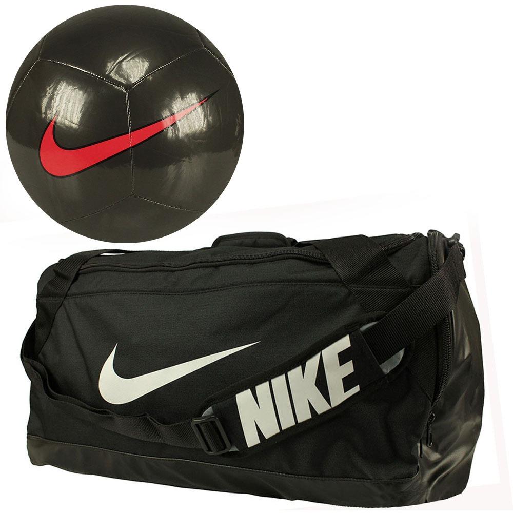 Kit Futebol Nike Bola Campo + Bolsa Brasilia Oficial Oferta! - R ... 4e55c6b487c58