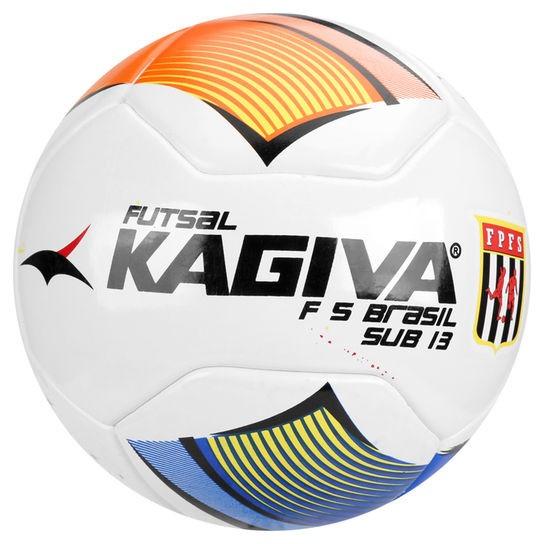 Kit Futsal Kagiva F5 Brasil - 8 Pro 4 Sub13 4 Sub11 4 Sub 9 - R ... d1508ee36aa71