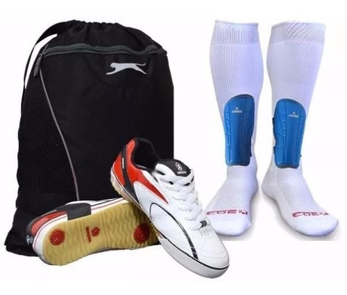 kit futsal micro futbol zapatillas tenis munich medias malet
