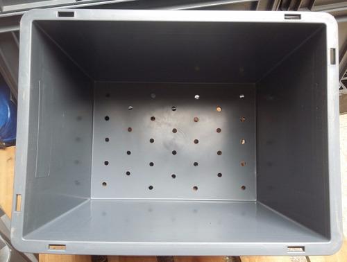 kit g32 compostera de organicos 3 cajones+tapa+canilla+guia